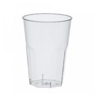 Čaše jednokratne brizgane, prozirne kao staklo