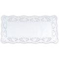 901100Tortenspitzen aus Papier, wei§rechteckig 40 x 20 cm6 StŸck/Pack