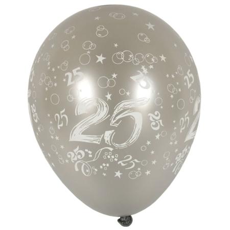 baloni-srebrni-broj-25