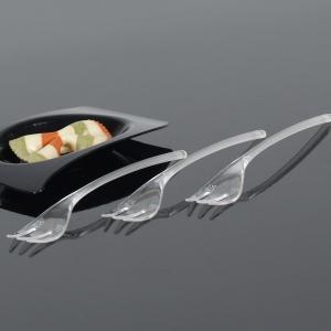 Mini vilica 10cm, prozirna