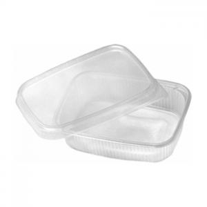 Posude za pakiranje, prozirne, kvadratne