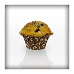 MINJONI Muffin Basket Ø5,0cmx3,5cm Swirl smeđa 65gr