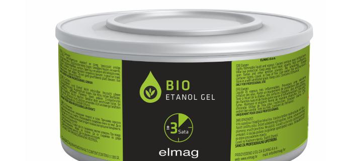 GEL za grijanje Bio Etanol 4L posuda