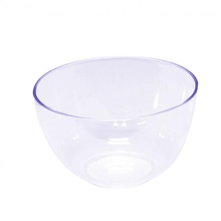 Mini posudica okrugla Ø 7.3cm, visina 4.8cm, prozirna