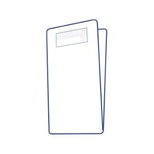 VREĆICA SNACKPOCHETTA sa 2-slojnom salvetom 11,3 x 21,0 cm nepropusni papir bijela