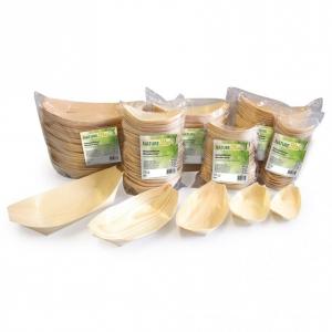Posude drvene - drveni brodići - biorazgradivo
