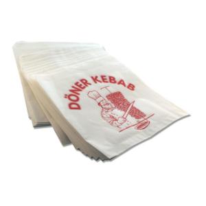 Vrećice za kebab / snack, otvorene sa dvije strane