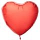 Balon od folije crveni