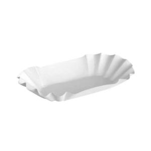 Papirnati tanjuri, ovalni sa folijom