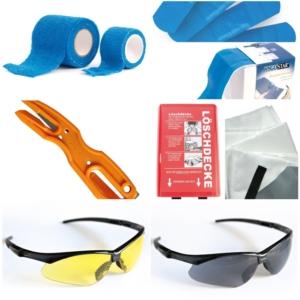 Naočale, deke, zavoji, flasteri i nožići
