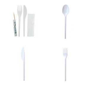 Pribor za jelo plastični za jednokratnu upotrebu