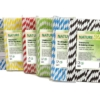 Biorazgradive papirnate slamke prugaste pakiranje