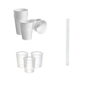 Plastične čaše i epruvete za piće